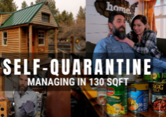 self quarantine in tiny house covid 19