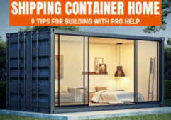 shipping container home tips