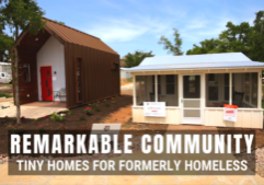 tiny home community for homeless texas