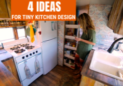 tiny home kitchen design