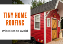 tiny home roofing