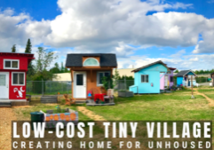 tiny home village for homeless_transitional_oregon