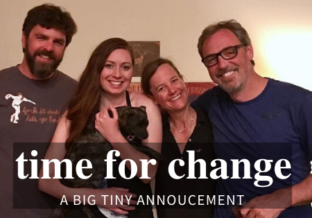 tiny house annoucement