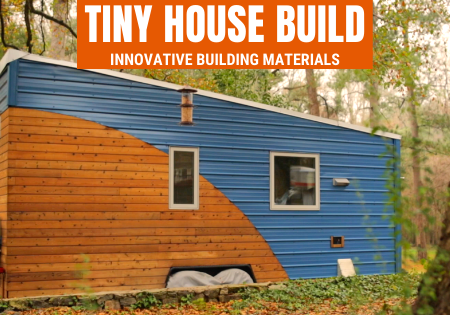 tiny house building materials