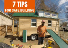 tiny house building safety tips