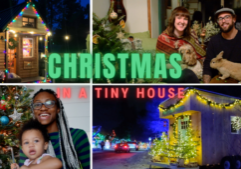 tiny house christmas