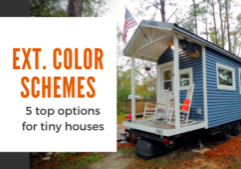 tiny house color schemes
