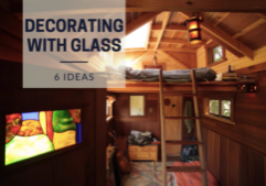 tiny house decor_glass
