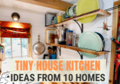tiny house kitchen design ideas