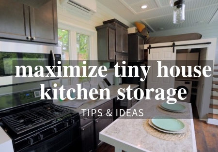 tiny house kitchen storage ideas