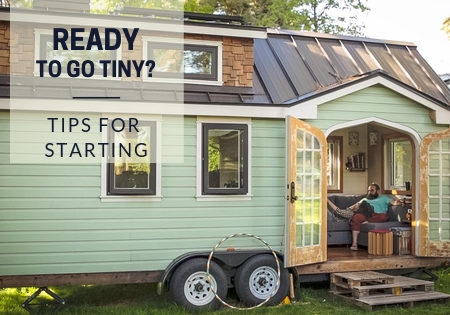 tiny house living-how to start