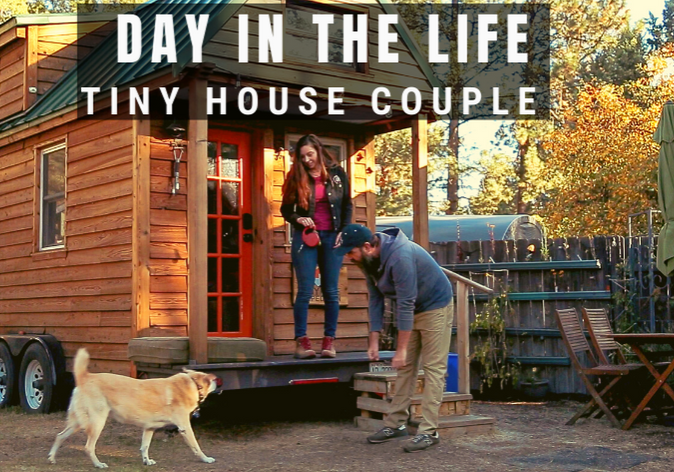 tiny house living_day in the life tiny house couple