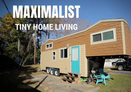 tiny house living_maximalist