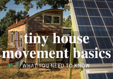 tiny house movement basics