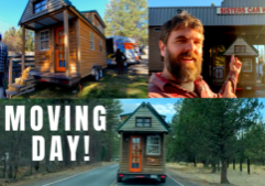 tiny house moving day