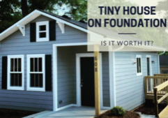 tiny house on foundation