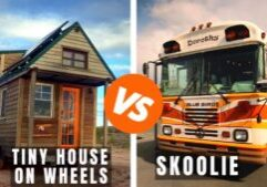 tiny house on wheels vs skoolie