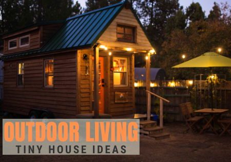 tiny house outdoor living design ideas_
