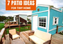 tiny house patio ideas