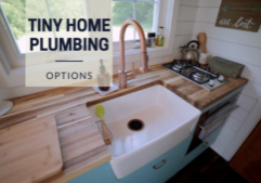 tiny house plumbing-water systems