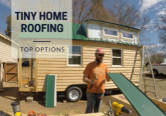 tiny house roofing