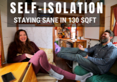 tiny house self isolation vlog