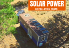 tiny house solar panel installation costs