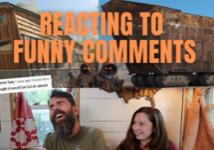 tiny house tour funny youtube comments