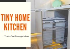 tiny house trash can storage ideas_