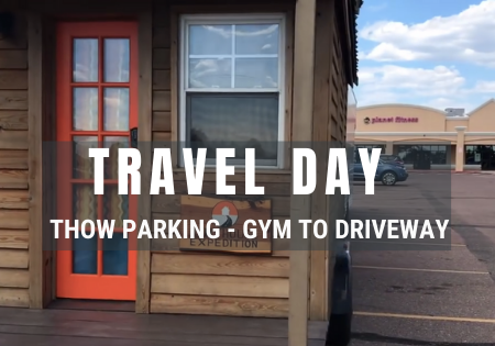 tiny house travel and parking