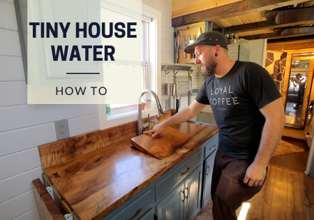 tiny house water