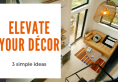 your tiny home's decor